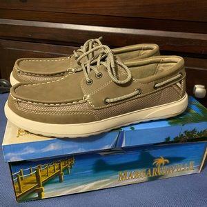 Margaritaville Men's Boat Shoes Great Condition